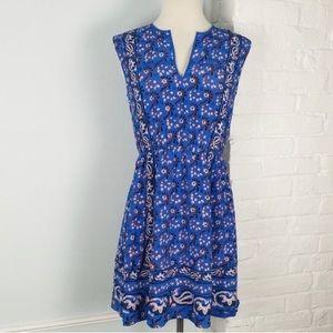 Like New J. Crew Vintage Scarf Print Dress! Size 0